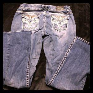Ladies Vigoss jeans slim boot size 16 L 33